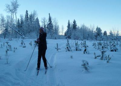 Winter Recreation at Tatuk Lake