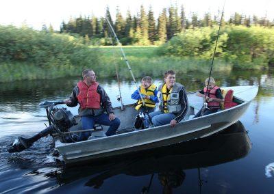 Fishing at Tatuk Lake Wilderness Resort