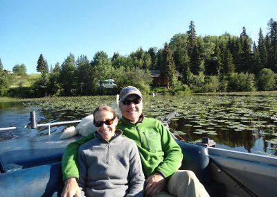 Boating at Tatuk Lake Wilderness Resort