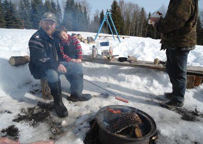 Winter Recreation at Tatuk Lake Resort