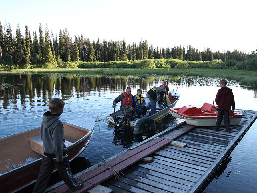 Recreational Angling and Fly Fishing at Tatuk Lake