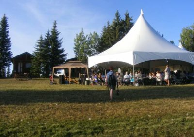 Event with Tent at Tatuk Lake
